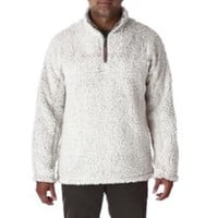 True Grit Frosty Tipped Pile Quarter-Zip Pullover