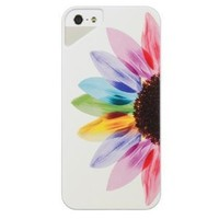 Generic Licensed UV Case for iPhone 5/5s - Retail Packaging - Sunrise/White