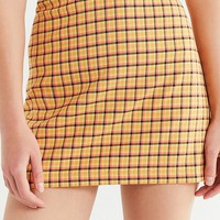 UO Venice Plaid Mini Skirt | Urban Outfitters