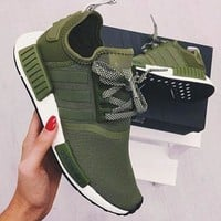 DCCK9 Adidas' NMD Women Fashion Trending Running Sports Shoes Sneakers