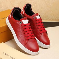 Boys & Men Louis Vuitton X Supreme Fashion Casual Sneakers Sport Shoes