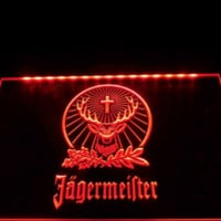 Jagermeister Bar Pub Neon Sign