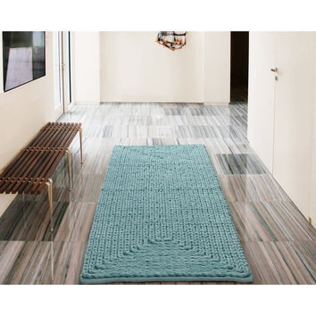 VCNY Barron Cotton Chenille Rug | Overstock.com Shopping - The Best Deals on Bath Rugs