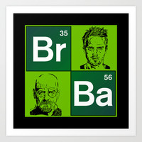 """The Breaking Bad """"colage"""" Art Print by Nostromo"""