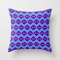 Wrapping Paper Throw Pillow by Alice Gosling | Society6
