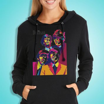 The Beatles Art Women'S Hoodie