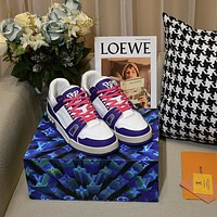 lv louis vuitton womans mens 2020 new fashion casual shoes sneaker sport running shoes 208