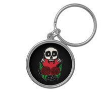 Love You To Death Keychain