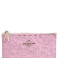 COACH Leather Coin Pouch | Nordstrom