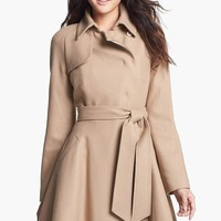 Ted Baker London Wool Blend Wrap Coat | Nordstrom