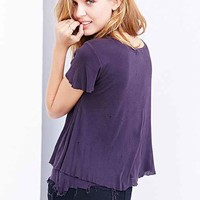 Truly Madly Deeply Destroyed Layered Tee-
