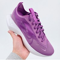 Nike Vista Lite Se SU20 New fashion hook print sports and leisure running shoes Purple