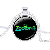 Zootopia Necklace, The Fox Nick and The Police Bunny Rabbit Judy