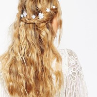 ASOS Pack of 8 Single Flower Clips at asos.com