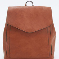Vintage Clean Tan Backpack - Urban Outfitters
