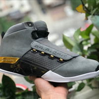 [Free Shipping ]Air Jordan 17 Retro Trophy Rm   Basketball Sneaker
