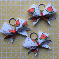 LIMITED Edition Watermelon Keychain Bow from June's Sweet Summer Box ONLY 1!