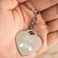 Best Mother-in-law Ever Key Chain Mothers Day, Holiday Gifts For Mother