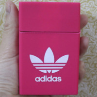 Adidas & CHICAGO BULLS & KEEP CALM AND LIGHT UP & Chromehearts Fashionable Silicone Case Smoking Case Pink