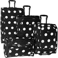 American Flyer Grande Dots 4-Piece Luggage Set - eBags.com
