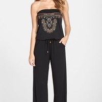 Women's La Blanca Embroidered Cover-Up Jumpsuit