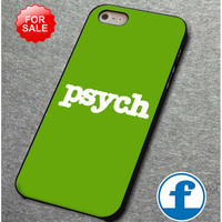 Psych cover  for iphone, ipod, samsung galaxy, HTC and Nexus PHONE CASE