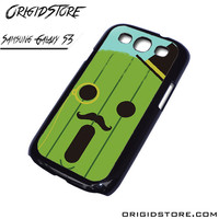 Cactuar Face Cactus Case For Samsung Galaxy S3 Case