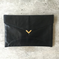 Bag, Black Bag, Vegan Bag, Clutch, Handbag, Black Handbag, Shirl Miller LTD, Womens Handbags, Purse, Made In USA,Evening Clutch, Evening Bag