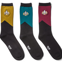 Star Trek TNG Men's Socks 3-pack
