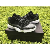 Air Jordan 11 black  Basketball Shoes 41-47