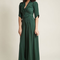 Miss Candyfloss The Embolden Age Jumpsuit in Pine