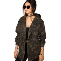 Olive All About Camo Jacket