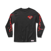 Low Life Long Sleeve Tee in Black