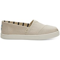 TOMS - Venice Collection Natural Heritage Canvas Women's Cupsole Classics Slip-Ons