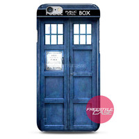 Dr Who Tardis Police Box iPhone Case 3, 4, 5, 6 Cover