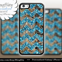 Monogram iPhone 5C 6 6 Plus Case Camo Aqua Teal Sparkle Chevron iPhone 5s 4 case Ipod 4 5 case Real Tree Personalized Country Inspired Girl