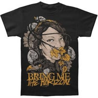 Bring Me The Horizon Men's  Lady Of Life T-shirt Black