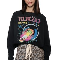 Daydreamer Journey Escape Crop Sweatshirt