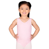 Child Future Star Shirred Tank Leotard