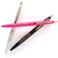 The Wishlist Pen Set