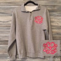 Lilly Pulitzer Monogram Sweatshirt youth and adult * free shipping *