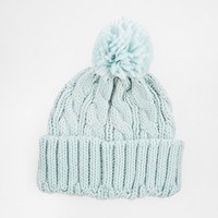 Warehouse Cable Knitted Hat