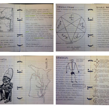 COMPLETE John Winchester journal - all pages (Supernatural)