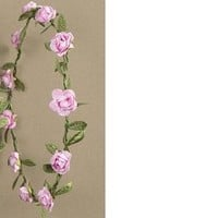 Couronnes petites roses rose