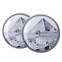 Pyramid in Egypt Plugs (2mm-25mm)
