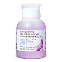 Strengthening Nail Polish Remover with Pump - 8 oz - up & up™