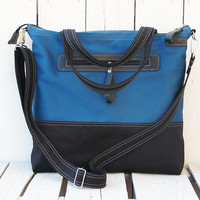 Weekender bag Tote bag messenger bag diaper bag two tone bag MacBook Bag Handbag