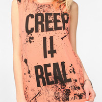 Urban Outfitters - Truly Madly Deeply Creep It Real Muscle Tee