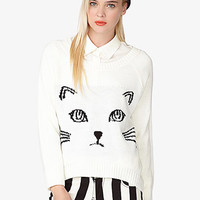 High-Low Cat Sweater