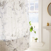 Black + White Marble Shower Curtain - Urban Outfitters